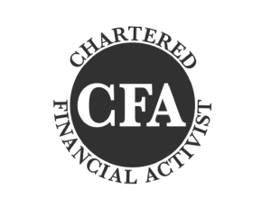 Chartered Financial Activist logo