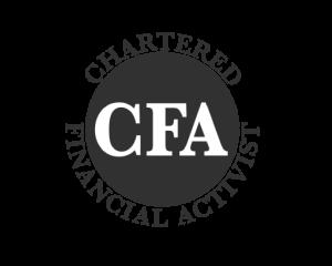 Chartered Financial Activist logo