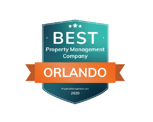 Best Property Management Company Orlando Award